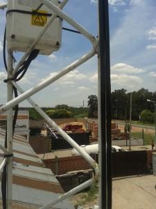 Cámaras de Seguridad en Torre de Comunicaciones en Servicios La Rumana De